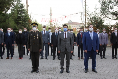 Ergani'de 10 Kasım Atatürk'ü Anma Töreni