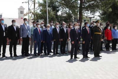 Ergani'de 30 Ağustos Zafer Bayramı Kutlaması