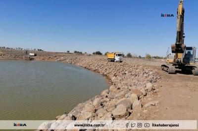 Ergani'de 5 Hayvan İçme Suyu göleti onarıldı