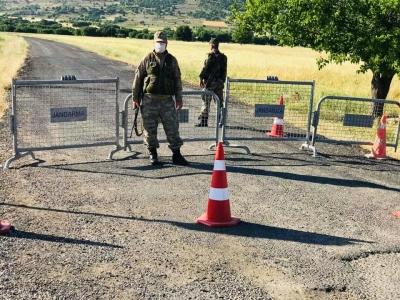 Ergani'de bir Mezra karantinaya alındı