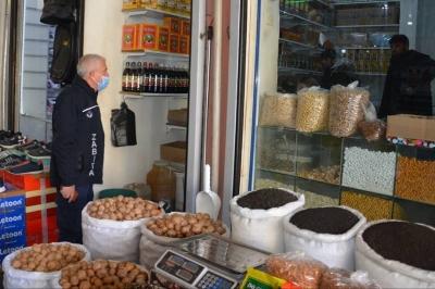 Ergani'de fahiş fiyat ve etiket denetimi