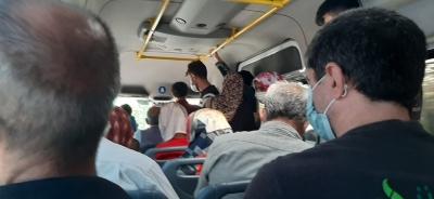 Ergani'de minibüsler kurallara uymuyor