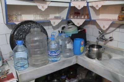 Ergani'de su sorunu vatandaşı canından bezdirdi