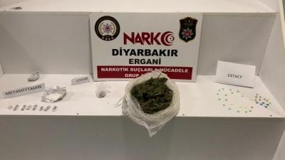 Ergani'de uyuşturucu Operasyonu