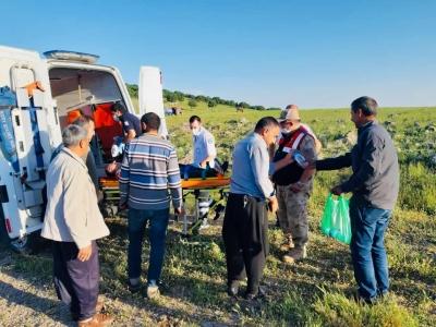 Ergani'de yamaç paraşütü kazası