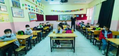 Ergani'de yüz yüze eğitime geçişte ikinci aşama başladı
