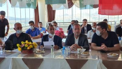 Gelecek Parti Ergani İlçe Başkanlığına Tunç yeniden seçildi
