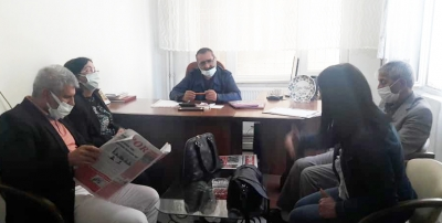 HDP'den Gazetemize ziyaret