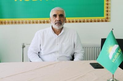 HÜDA PAR Ergani İlçe Başkanı Buran güven tazeledi