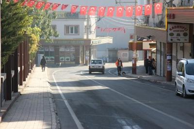 Kısıtlama geldi, cadde ve sokaklar sessizliğe büründü