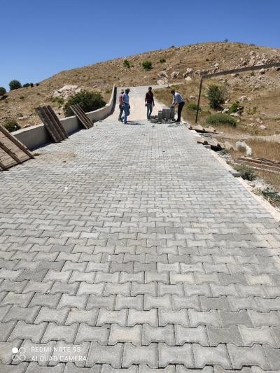 Makam Dağı yolu yenileniyor