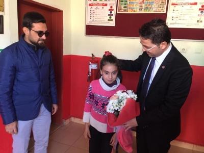 Milli Eğitim Müdürü Ernez 'den okul ziyareti