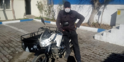 Motorsiklet Hırsızı Yakalandı