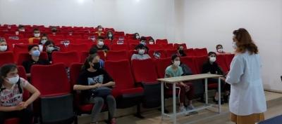 Öğrencilere LGS öncesi sınav stresi ve kaygı yönetimi semineri