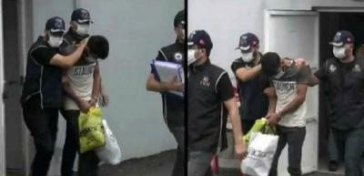 Patlayıcının ele geçirildiği operasyonda yakalanan iki zanlı tutuklandı
