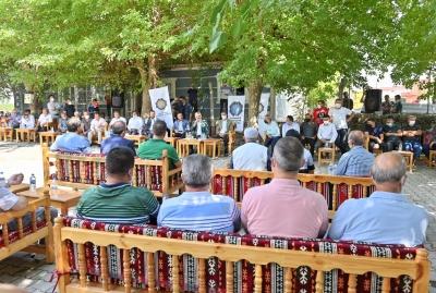 Vali Karaloğlu, Güzelköy'de vatandaşlarla bir araya geldi
