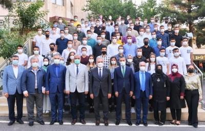 """Vali Münir Karaloğlu: """"İtfaiyecilik kutsal bir meslektir"""""""